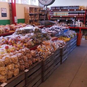 Producten in de boerderijwinkel